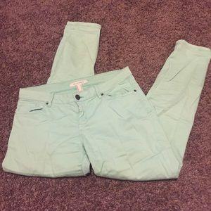 F21 Mint Colored Pants